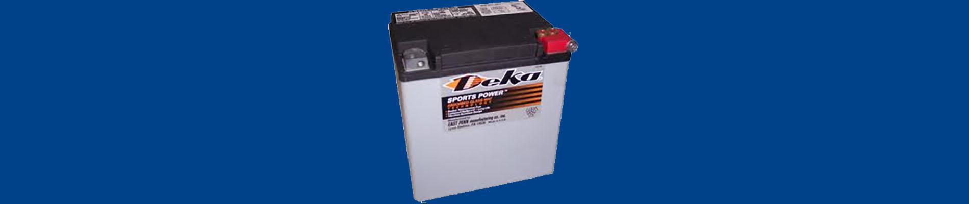batteries pour les motos